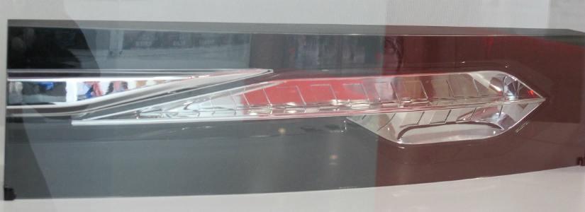 OLED arac stop lambasi1