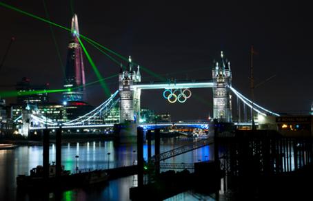 3D Bridge tower led aydinlatma