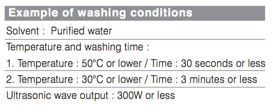 yıkama talimati