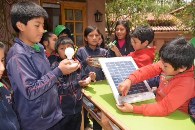 Solar batarya led aydinlatma