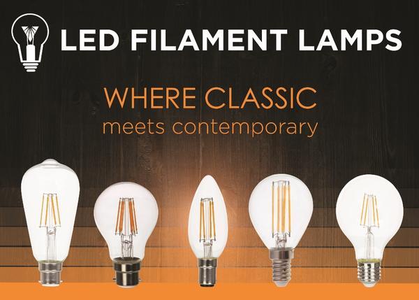 vled filament lamp