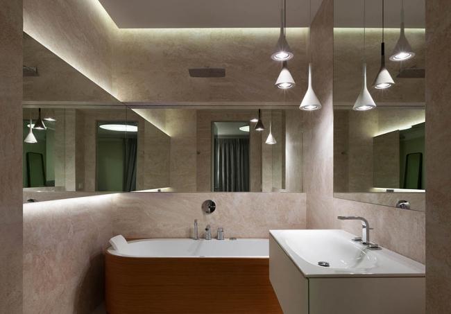 banyoda LED aydinlatma2