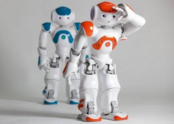 robot insan birlikte
